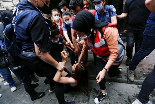 Τουρκία: Δακρυγόνα και συλλήψεις στην Πορεία Υπερηφάνειας | tovima.gr