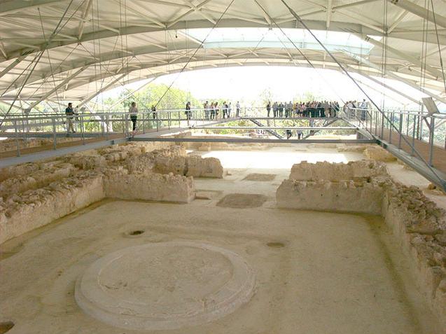 Chora Trifylias: The palace complex of Nestor   tovima.gr