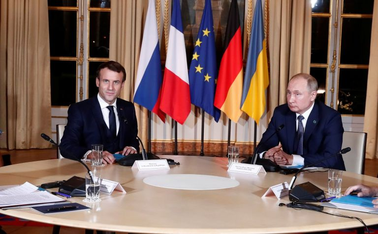 Επικοινωνία Μακρόν – Πούτιν για Ουκρανία και Λιβύη | tovima.gr