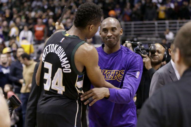 NBA: Όταν ο Κόμπι… προκαλούσε τον Γιάννη να γίνει πρωταθλητής   tovima.gr