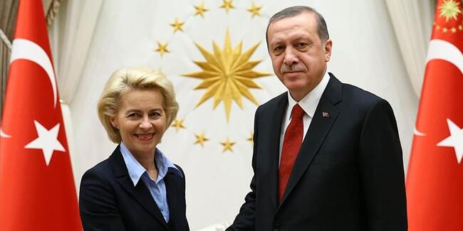Λάιεν προς Ερντογάν: Η ΕΕ δεν θα δεχτεί ποτέ λύση δύο κρατών στην Κύπρο   tovima.gr