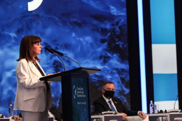 Η Κατερίνα Σακελλαροπούλου στη Σύνοδο Κορυφής της Πρωτοβουλίας των Τριών Θαλασσών στη Σόφια   tovima.gr