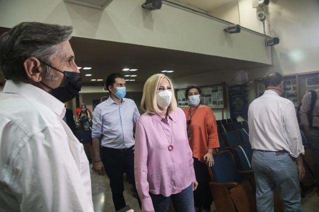 Γεννηματά: Το ΚΙΝΑΛ μπαίνει μπροστά με εκστρατεία υπέρ του εμβολιασμού   tovima.gr