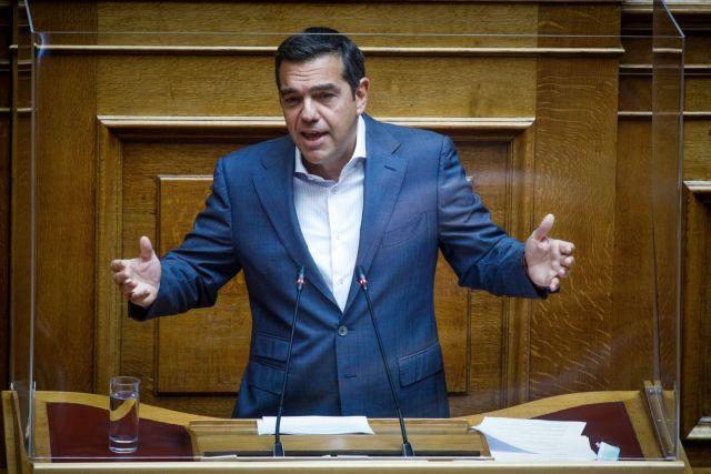 Τσίπρας: Ο πρωθυπουργός έχει εξαπολύσει πογκρόμ διχασμού – Αυτός κάθεται στο εδώλιο της συνείδησης του λαού, όχι ο Ν. Παππάς | tovima.gr