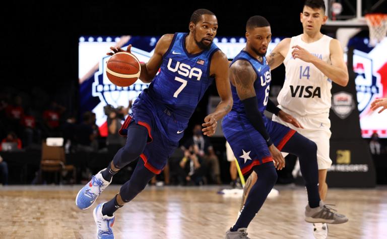 Η Team USA ισοπέδωσε με 108-80 την Αργεντινή στο Λας Βέγκας | tovima.gr