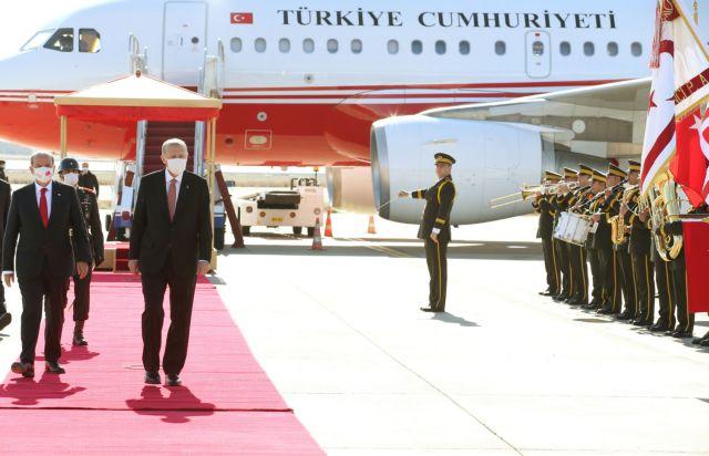 Ερντογάν: Λίγο μετά τις 15.00 το μεσημέρι της Δευτέρας θα φτάσει στα κατεχόμενα   tovima.gr