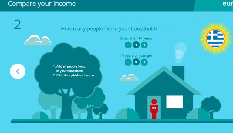 Δες αν το εισόδημά σου ανήκει στα υψηλότερα ή τα χαμηλότερα στην Ελλάδα [Εφαρμογή]   tovima.gr
