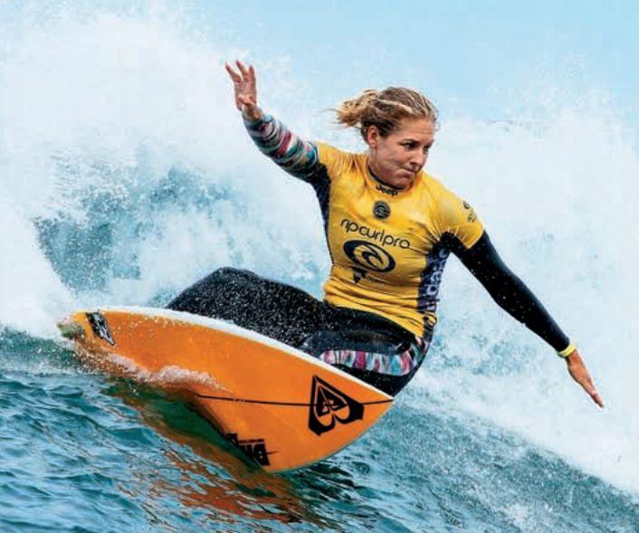 Στέφανι Γκίλμορ: Δαμάζοντας τα κύματα | tovima.gr