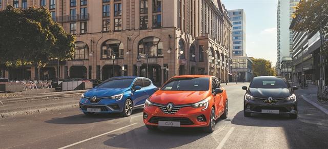 Παζλ τεχνολογιών στο Renault Clio   tovima.gr