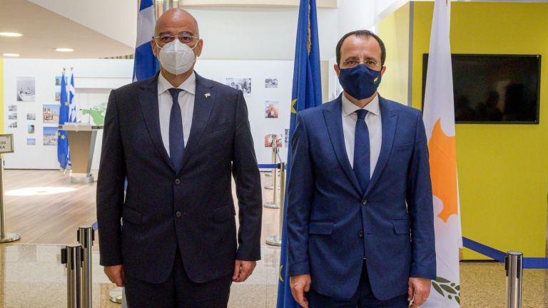 Στην Κύπρο ο Ν. Δένδιας: Η Τουρκία θα πάρει απάντηση για την παρανομία στα Βαρώσια   tovima.gr
