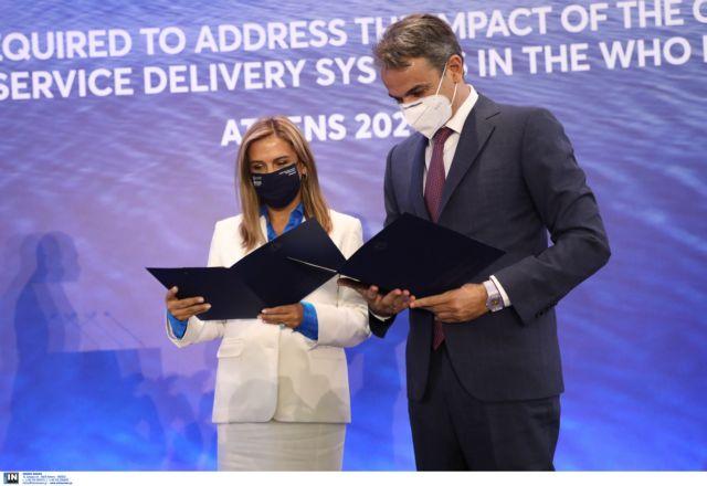 Νέα έκκληση Μητσοτάκη για εμβολιασμούς – Τι είπε στο συνέδριο για την Ψυχική Υγεία | tovima.gr