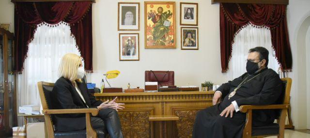 Μήνυμα Γεννηματά για εμβολιασμό – Τι συζήτησε με τον Μητροπολίτη Μεσσηνίας   tovima.gr