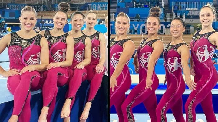 Τόκιο 2021: Με ολόσωμη εμφάνιση η γερμανική ομάδα γυμναστικής | tovima.gr