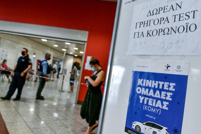 ΕΟΔΥ: Πού θα γίνονται δωρεάν rapid test την Παρασκευή | tovima.gr