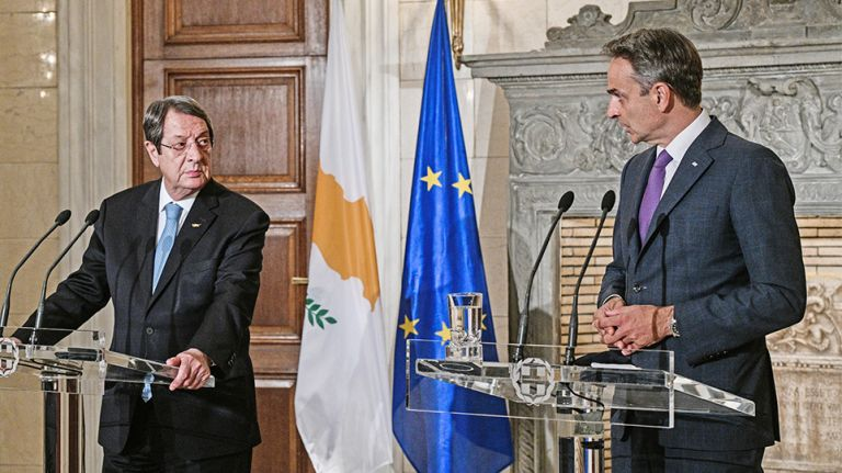 Greece, Cyprus seek strategy to confront Turkish expansionism   tovima.gr