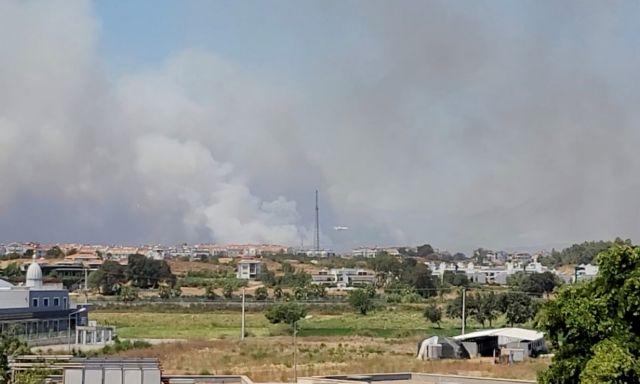 Τουρκία: Πύρινος εφιάλτης στην Αττάλεια – Τραυματίες και καμένα σπίτια   tovima.gr