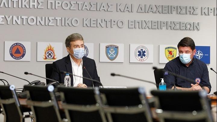 Πολιτική Προστασία: Ευρεία σύσκεψη αύριο με Χρυσοχοΐδη –  Χαρδαλιά για το κύμα καύσωνα | tovima.gr