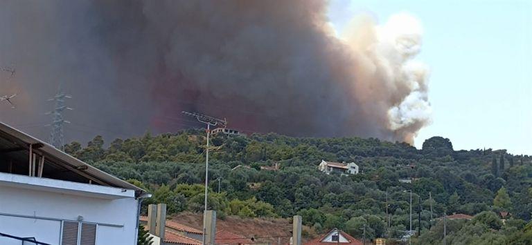 Φωτιά στην Αχαΐα – Εκκενώθηκε κατασκήνωση με παιδιά   tovima.gr