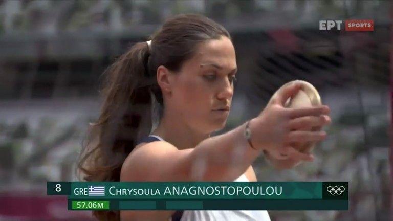 Ολυμπιακοί Αγώνες – Στην 7η θέση στη δισκοβολία η Αναγνωστοπούλου | tovima.gr