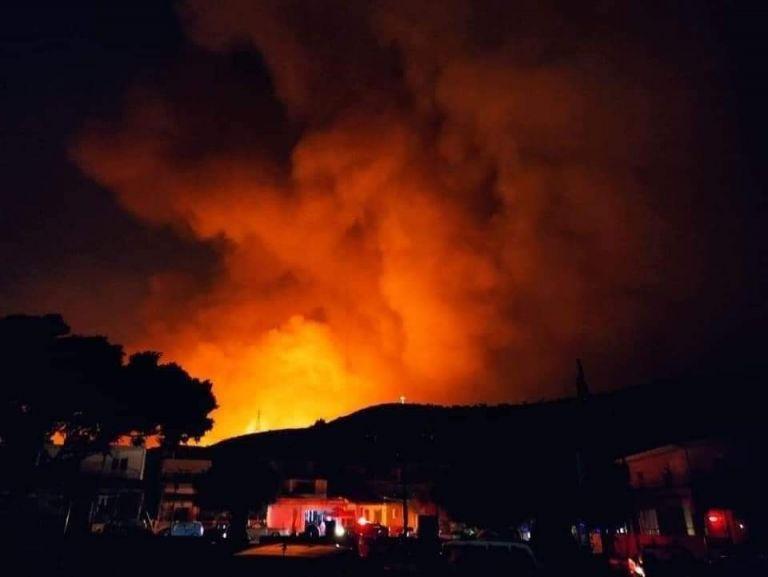 Ρόδος – Ολονύχτια μάχη με τις φλόγες – Εκκενώθηκαν χωριά, πρόβλημα στην ηλεκτροδότηση   tovima.gr