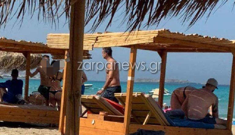 Μητσοτάκης – Διήμερο ξεκούρασης με μπάνιο στα Φαλάσαρνα Χανίων [εικόνες]   tovima.gr