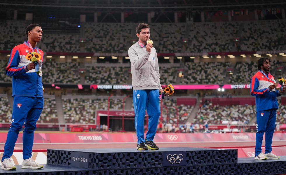 Ολυμπιακοί Αγώνες – Χρυσό μετάλλιο ο Τεντόγλου στο μήκος με άλμα στα 8,41μ.   tovima.gr