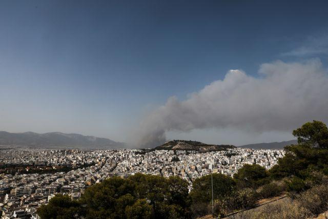 Φωτιά στη Βαρυμπόμπη – Εκκενώνεται οικισμός – Νέο μήνυμα από το το 112   tovima.gr