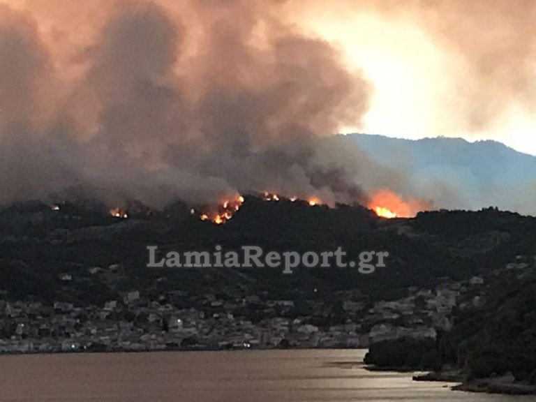 Λίμνη Εύβοιας – Η θάλασσα σταμάτησε τις φλόγες, κάηκαν σπίτια – Τρία τα μεγάλα μέτωπα | tovima.gr