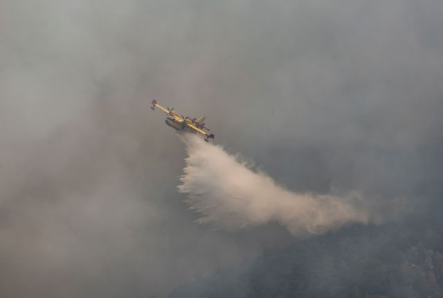 Τουρκία – Αναζυπυρώθηκε η πυρκαγιά στο Μίλας – Απειλείται θερμοηλεκτρικός σταθμός | tovima.gr
