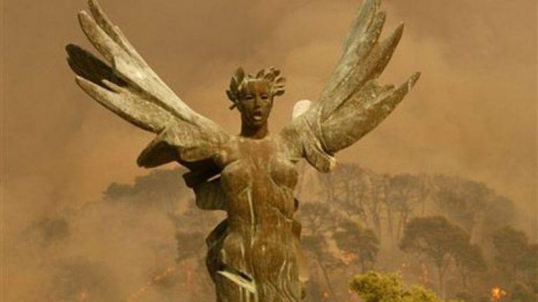 Φωτιές 2007: Όταν η Αρχαία Ολυμπία σώθηκε από θαύμα | tovima.gr