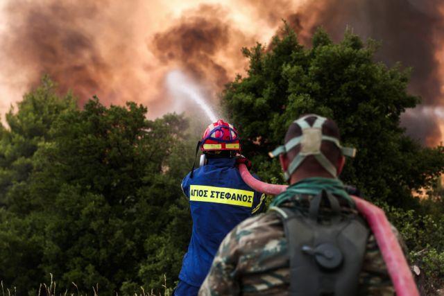 Φωτιά στην Ηλεία – Πληροφορίες για έναν αγνοούμενο άνδρα στο χωριό Πεύκες | tovima.gr