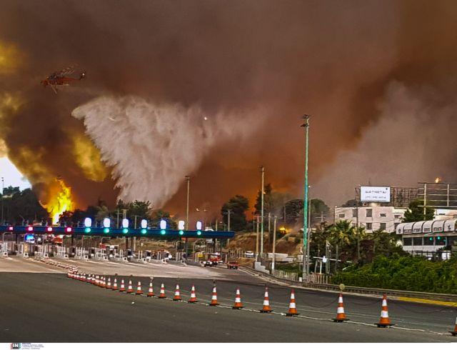 Φωτιά στη Βαρυμπόμπη – Εφτασε στα διόδια των Αφιδνών το πύρινο μέτωπο | tovima.gr