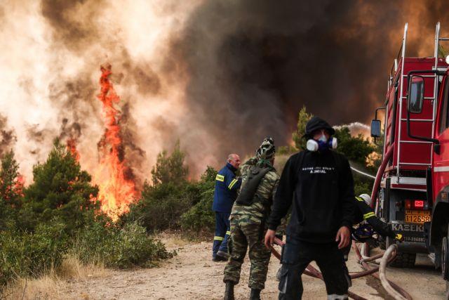 Φωτιά στη Βαρυμπόμπη – Εκκενώνεται η Δροσοπηγή – Το in.gr στο πύρινο μέτωπο [Εικόνες, video]   tovima.gr