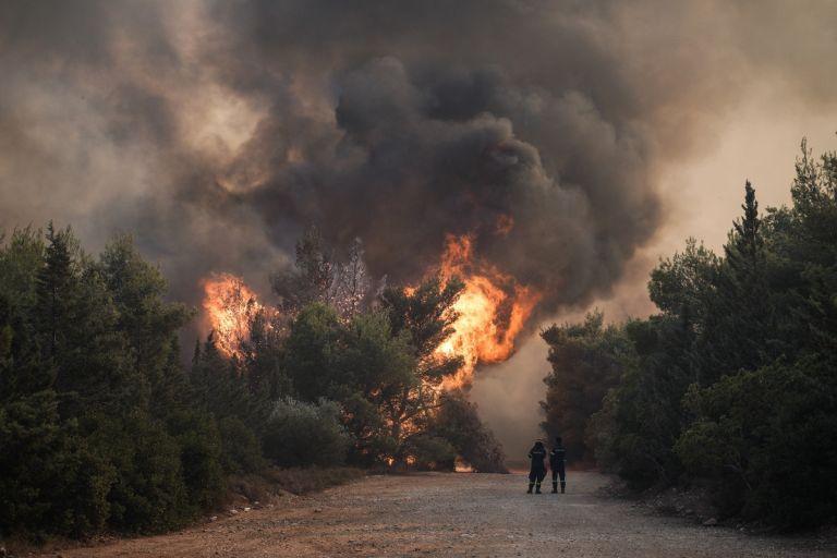 Πύργος – Προληπτική εκκένωση τεσσάρων κοινοτήτων εξαιτίας της φωτιάς στην περιοχή Κολίρι | tovima.gr
