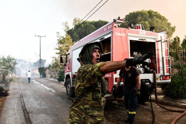 Φωτιά στην Αττική – Νέα μεγάλη αναζωπύρωση στο Κρυονέρι | tovima.gr