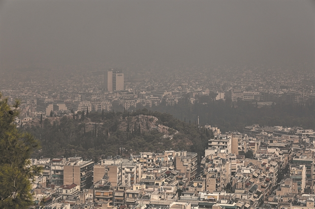Tοξική η ατμόσφαιρα στην Αττική λόγω των πυρκαγιών – Δείτε χάρτη με στοιχεία ανά περιοχή | tovima.gr