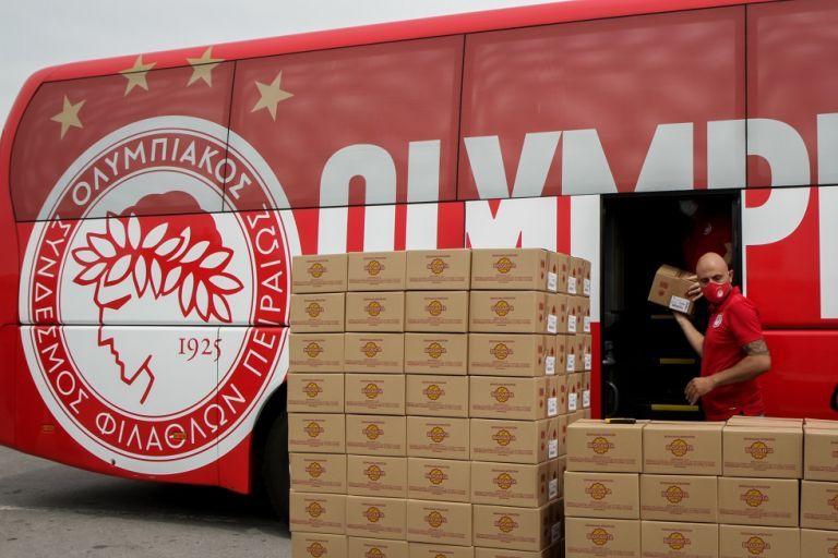 Ο Ολυμπιακός ενισχύει τους πυρόπληκτους της Εύβοιας   tovima.gr