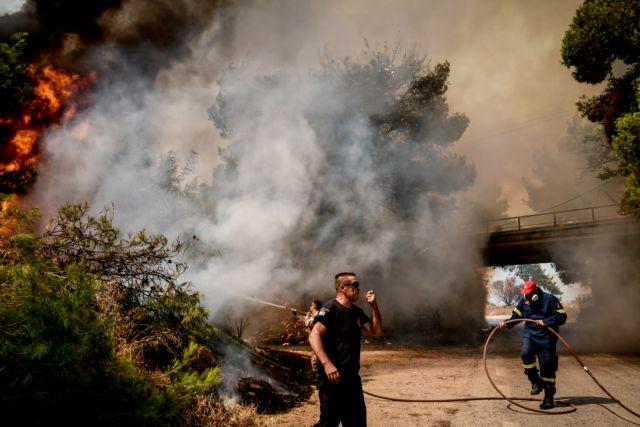 Φωτιά στην Αττική – Εκκενώθηκαν Σταμάτα, Ροδόπολη, Βαρυμπόμπη και Θρακομακεδόνες | tovima.gr