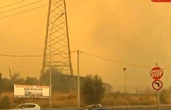 Πυρκαγιά στην Αττική – Οι φλόγες μπήκαν στην Ιπποκράτειο Πολιτεία – Εφιαλτικές εικόνες | tovima.gr