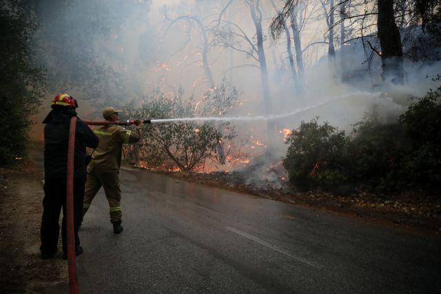 Φωτιά στην Αττική – Η φωτιά μπήκε μέσα στα σπίτια των Θρακομακεδόνων [Συγκλονιστικές εικόνες]   tovima.gr