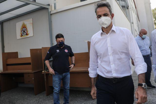 Φωτιές – Στο Συντονιστικό στο Χαλάνδρι και πάλι ο πρωθυπουργός | tovima.gr