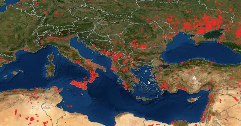 Συγκλονιστικά στοιχεία – Καίγεται όλη η Ευρώπη – Τριπλάσιες πυρκαγιές φέτος, αύξηση 94% στις καμένες εκτάσεις | tovima.gr