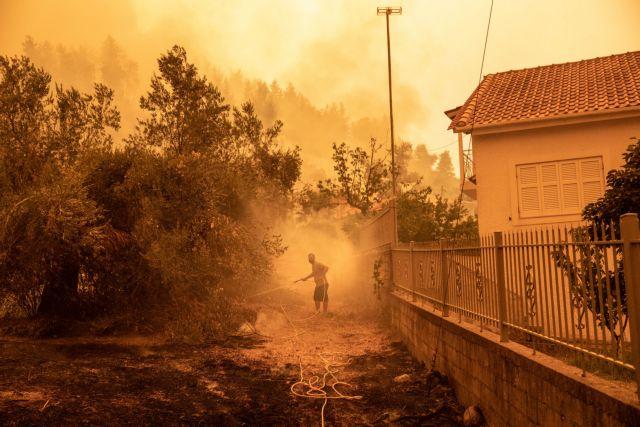 Εκτη νύχτα τρόμου στην Εύβοια – Βιβλική η καταστροφή στην Αττική – Η εικόνα στις υπόλοιπες πυρκαγιές | tovima.gr