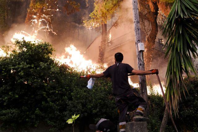 Χαρδαλιάς – Ακόμα μια δύσκολη νύχτα στην Εύβοια – Βελτιώνεται η κατάσταση στην Αττική | tovima.gr