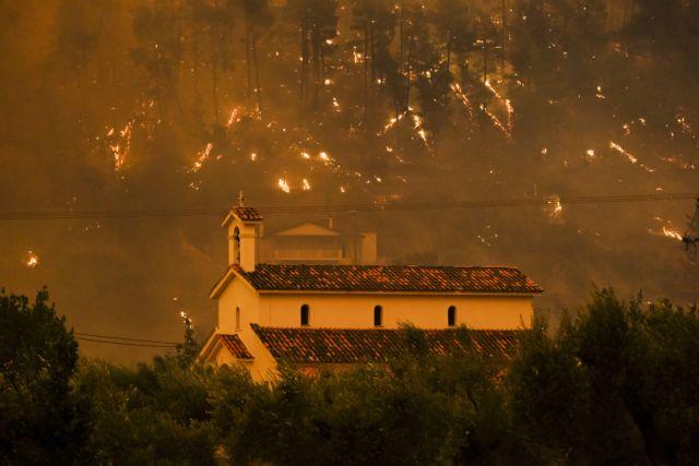 Εφιάλτης δίχως τέλος στην Εύβοια – Νέα αναζωπύρωση στις Γούβες | tovima.gr