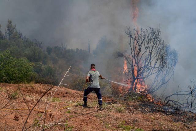 Τραυματισμός πυροσβέστη στην Πάρνηθα   tovima.gr