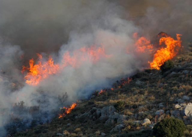 Ηράκλειο – Σε ύφεση η φωτιά στον Άγιο Θωμά, στον δήμο Γόρτυνας | tovima.gr
