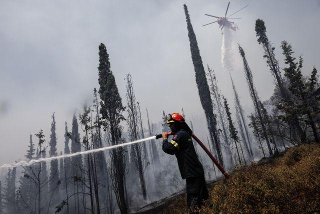 Φωτιές – Στο 251 ΓΝΑ ο πυροσβέστης που τραυματίστηκε στην Πάρνηθα – Χτύπησε στο κεφάλι | tovima.gr
