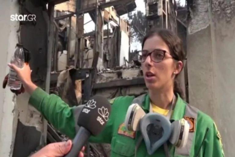 Φωτιά στην Αττική – Η εθελόντρια που έσωσε σπίτια των γειτόνων της αντικρύζει τα αποκαΐδια του δικού της   tovima.gr