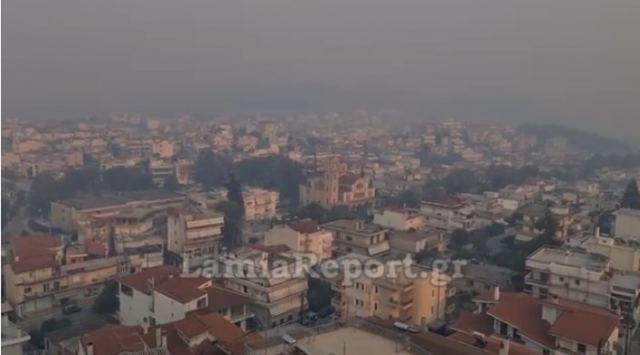 «Πνίγηκε» από τον καπνό της φωτιάς στην Εύβοια η Λαμία | tovima.gr